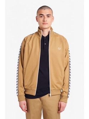 Fred Perry Taped track Jacket Warm Stone J6231 363