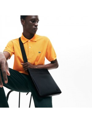 Sac Lacoste NH2850HC 000 black flat crossover bag