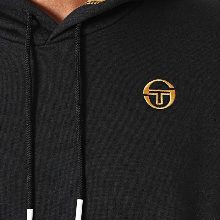 Sweatshirt à capuche Sergio Tacchini Nostello 39348 555 Black Gold