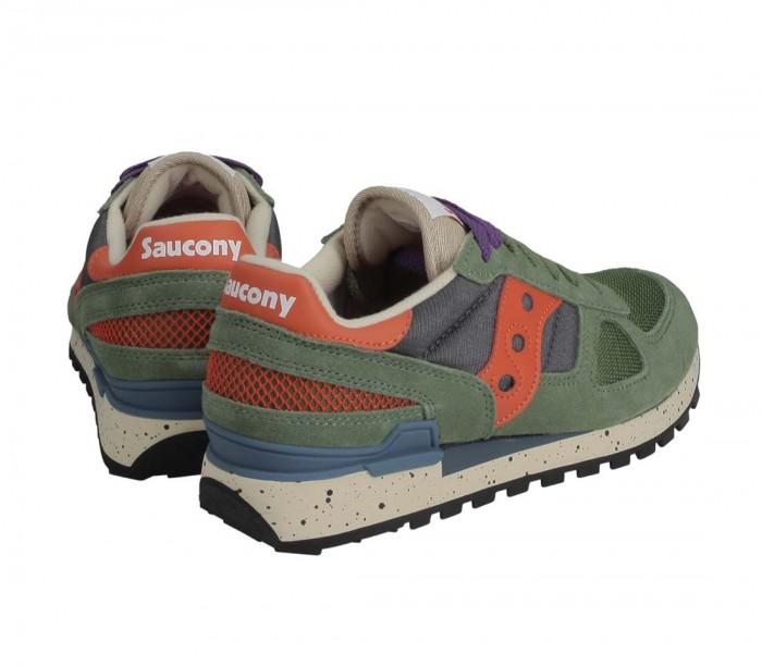 Saucony Shadow Original Vert Gris Orange S2108 793