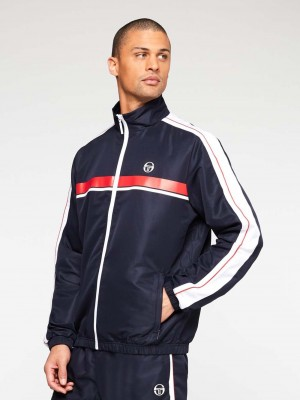 Survêtement Sergio Tacchini Agave 39146 380 Navy Red