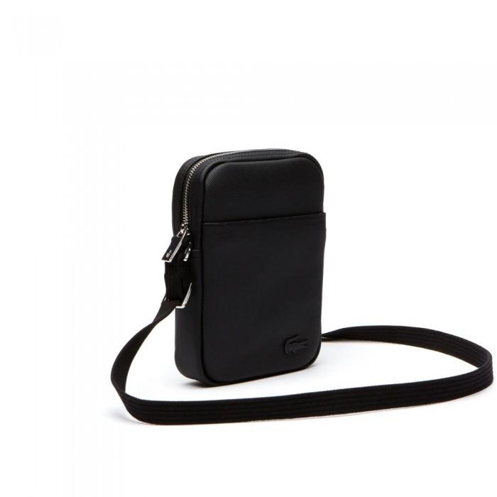 Sac Lacoste NH2340HC 000 black slim vertical camera bag
