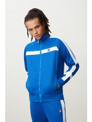 Fila Renzo Jacket stripe track jacket directoire blue white LM181L29 916