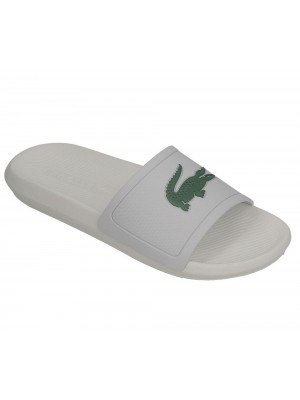 Sandales Lacoste Croco slide 119 1 CMA wht grn 737CMA001808291