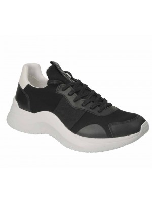 Basket Calvin Klein Uzzle Black Nappa Smooth Calf F2052 001