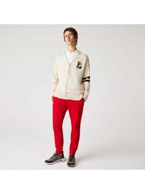 Pantalon de Survêtement Lacoste XH9507 240 Rouge