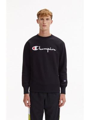 Sweatshirt Champion Europe crewneck big logo 212576 S19 KK001 NBK Black