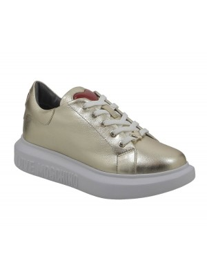 Love Moschino JA15494G0BJE900 Sneakerd Gomma40 Lamin Platino