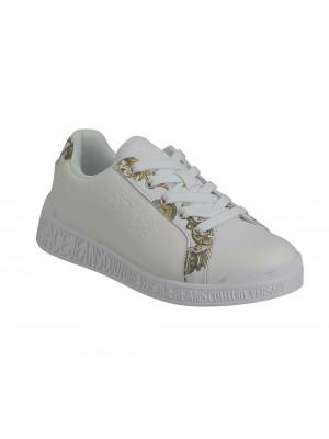 Versace Jeans Couture Dame Logo Dis.Sp1 White 71VA3SP1 71973 003