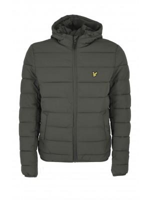 Lyle & Scott JK1317V W123 light weight puffer jacket trek green
