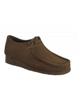 Chaussures Clarks Originals Wallabee Cola suede 26133280