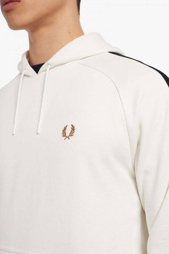 Sweatshirt à capuche Fred Perry M2639 129 Snow White