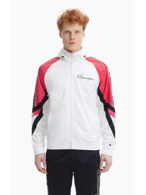 Veste Survêtement Champion Hooded Full Zip Top 213048 WW001 WHT AZA NBK