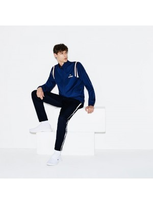 Survêtement Lacoste WH3380 PU2 marino navy blue white