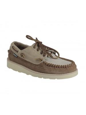 Chaussure Sebago Campsides Cayuga brun et beige.