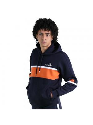 Sweatshirt à capuche Sergio Tacchini Norbert 39318 202 Navy Orange