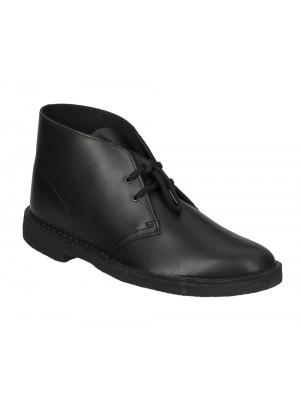 Bottines Clarks Originals Desert Boot Black Polished 26144225