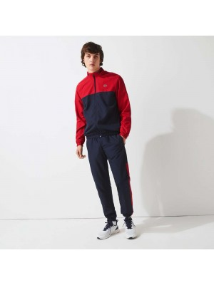 Survêtement Lacoste WH9563 MWP Navy Blue Ruby White