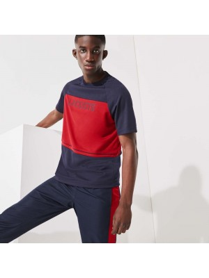 T-shirt Lacoste TH0791 44Y Navy Blue Ruby