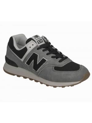 New Balance ML574 SPE grey black 774791 60 8 Suede textile