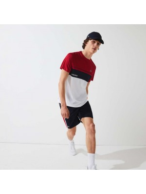 Short Lacoste GH314T MWP Navy Blue Ruby White