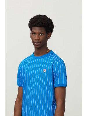 Fila T-shirt Guilo LM181L16 917 directoire blue white