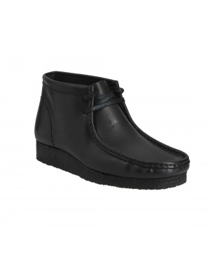Clarks Originals Wallabee Boot Black Leather 26155512 7