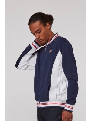 Fila Settanta Track jacket peacoat wht c red Lm161RN1 410