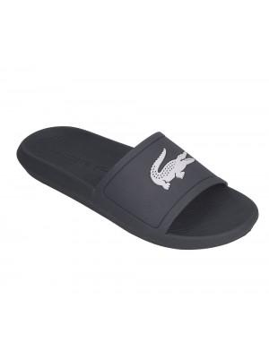 Sandale Lacoste Croco slide 119 1 CMA nvy wht  737CMA001809291