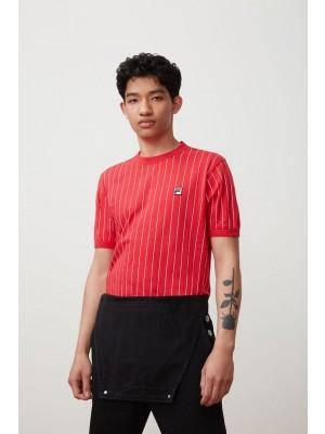 Fila T-shirt Guilo LM181L16 640 red white