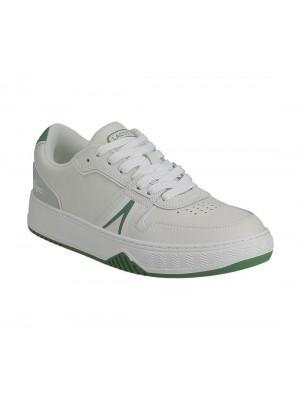 Basket Lacoste L001 0321 1 SMA 1 SMA wht Grn leather 7 42SMA0092082