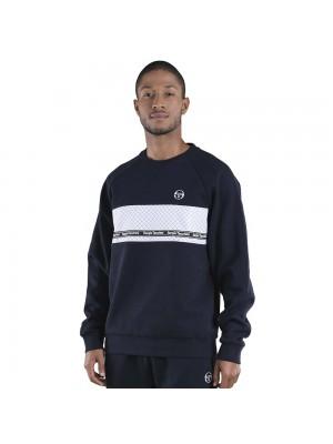 Sweatshirt Sergio Tacchini Norty 39336 200 Navy White