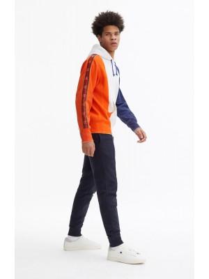 Sweatshirt Champion Europe hooded 213242 S19 WW001 WHT tricolore